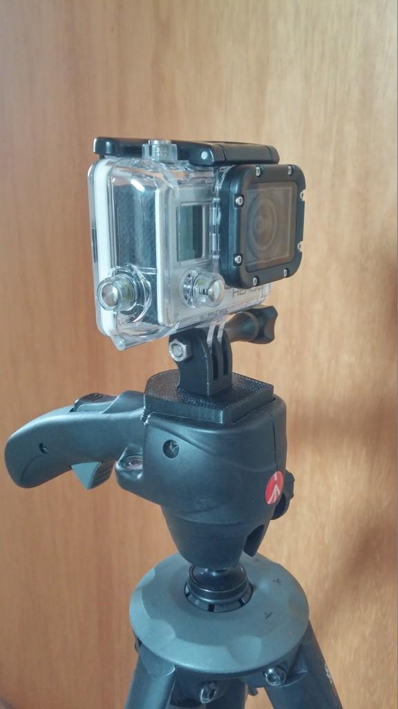 un support pour GoPro